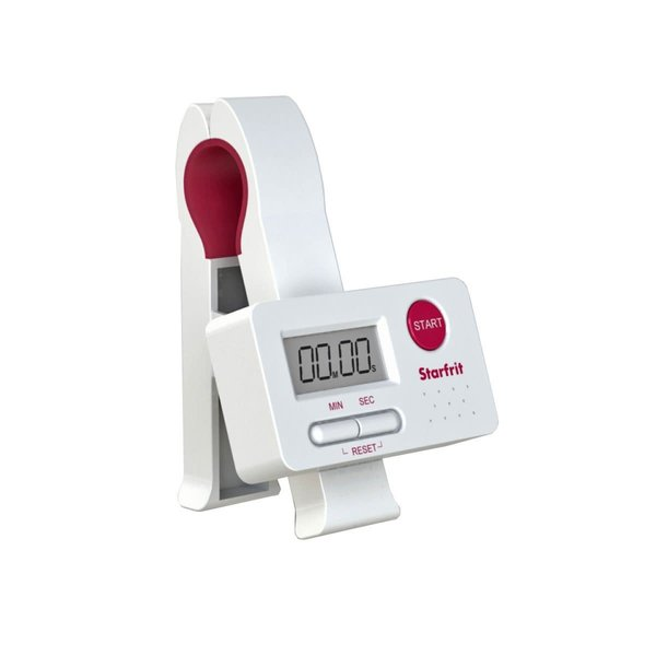 Starfrit Digital Clip Timer, White