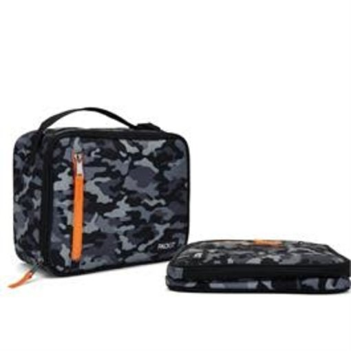 Packit Packit Classic Freezable Lunch Box Camo Grey
