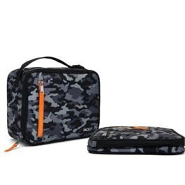 Packit Classic Freezable Lunch Box Camo Grey