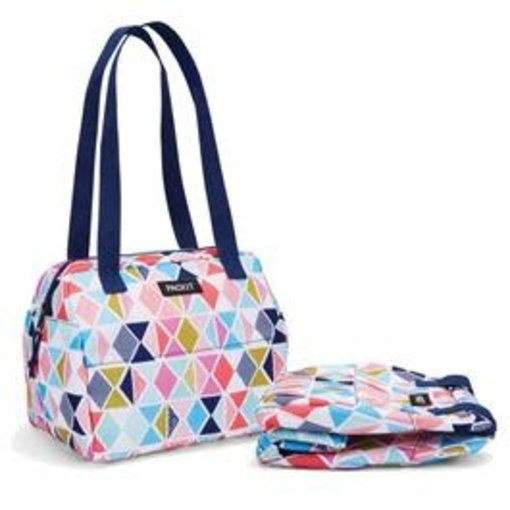 Packit Packit Hampton Freezable Tote Lunch Bag Festive Gem