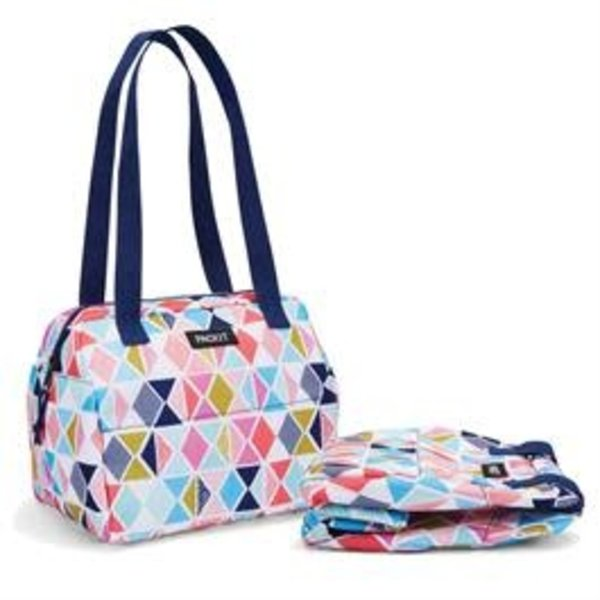 Packit Hampton Freezable Tote Lunch Bag Festive Gem