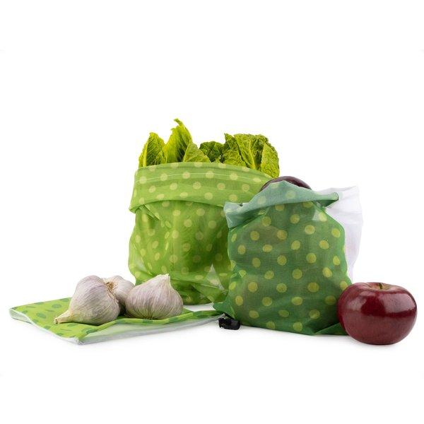 Ensemble  de 6 sacs à provisions de Mortier Pilon