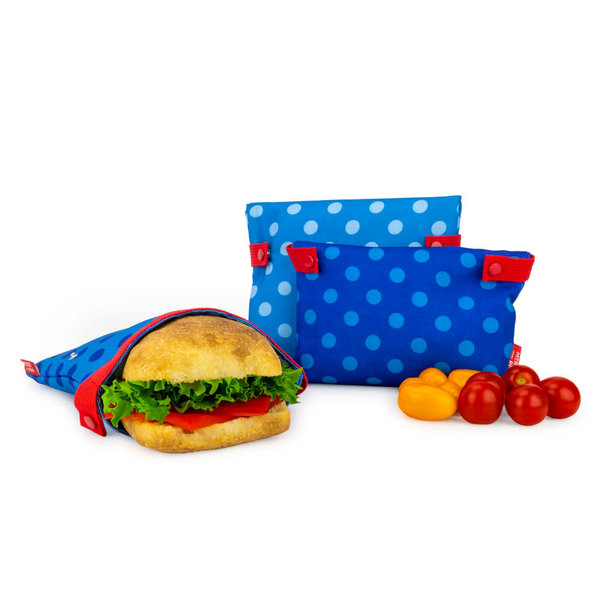 Mortier Pilon Set of 3 Snack Bags
