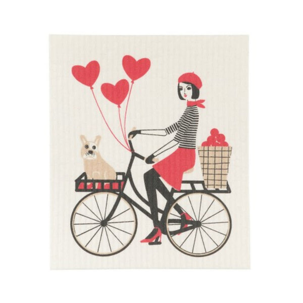Tour De Paris Swedish Dishcloth
