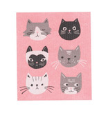 Now Designs Cats Meow Swedish Dishcloth