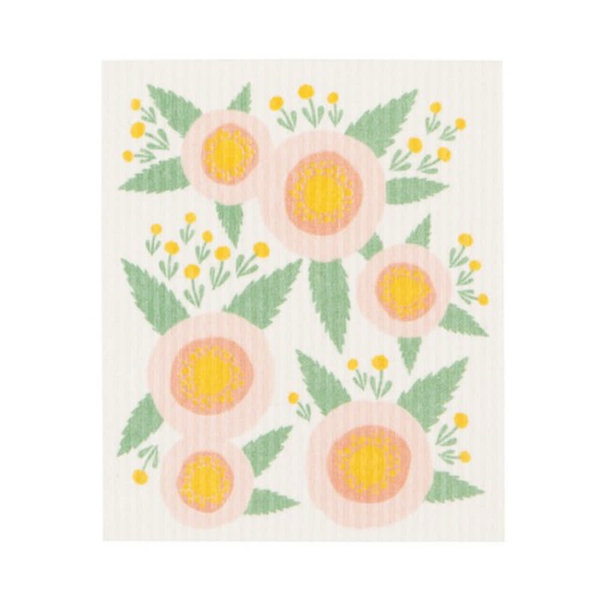 Rosa Swedish Dishcloth