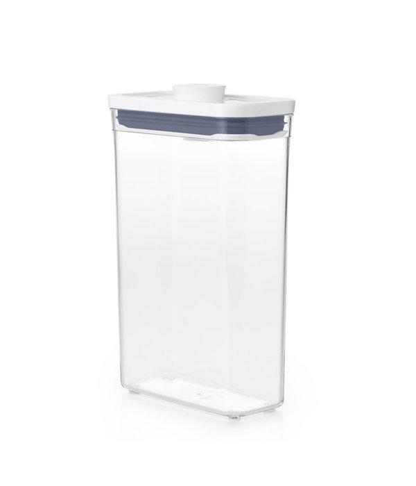 Oxo OXO POP 2.0 Slim Rectangle Medium Container, 1.8L