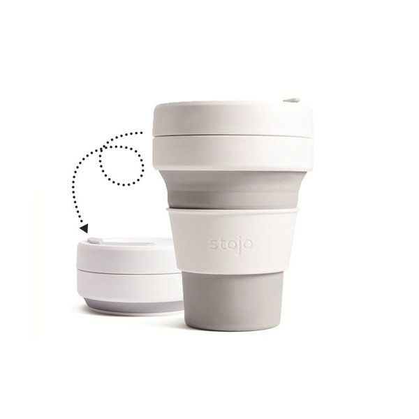 Stojo collapsible Pocket Cup, grey