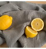 """Now Designs Linge à vaisselle """" London Gray Ripple"""", gris"""