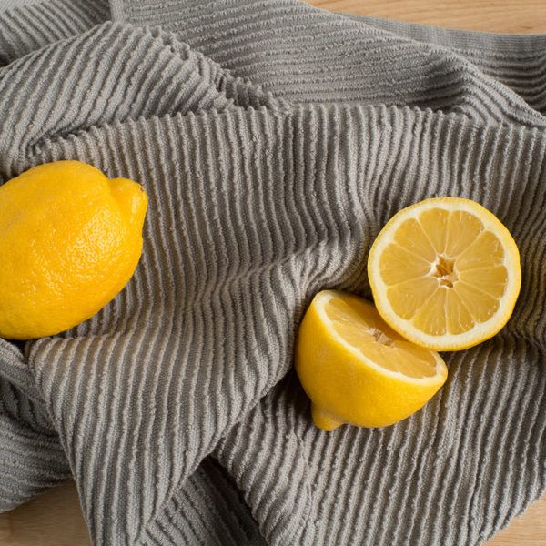 NowDesigns London Gray Ripple Dishtowel