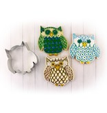 "Ann Clark Ann Clark Owl Cookie Cutter 3.25"""