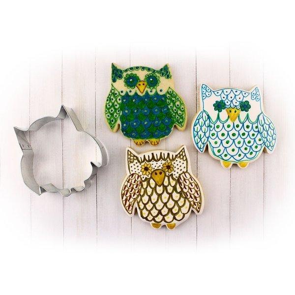 """Ann Clark Owl Cookie Cutter 3.25"""""""