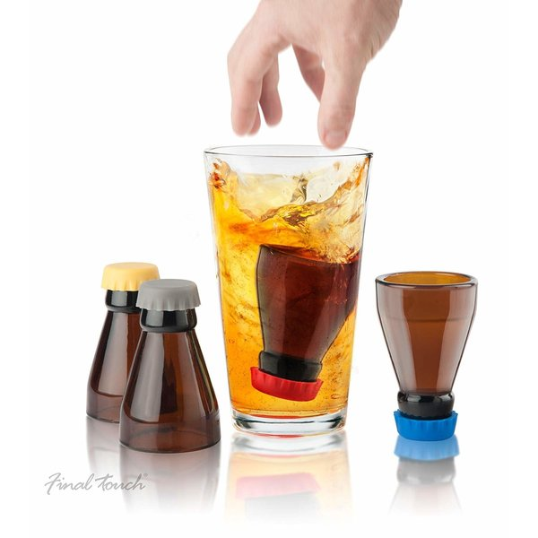 "Ensemble de verres ""Beer Bombs"""