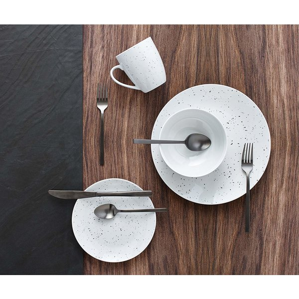 H2K 16pc Speckle Dinnerware Set