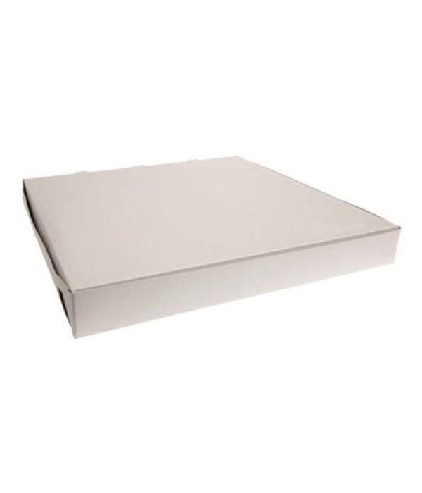"""Pizza Box 16"""" x 16"""" x 2"""", white"""