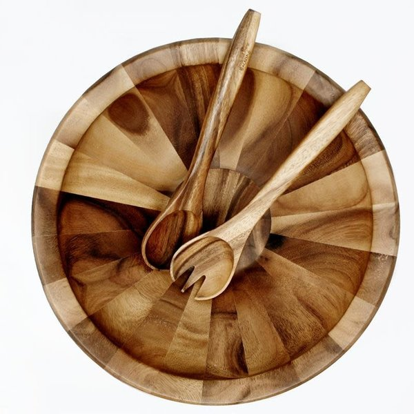 Natural Living ACACIA XL Salad Bowl