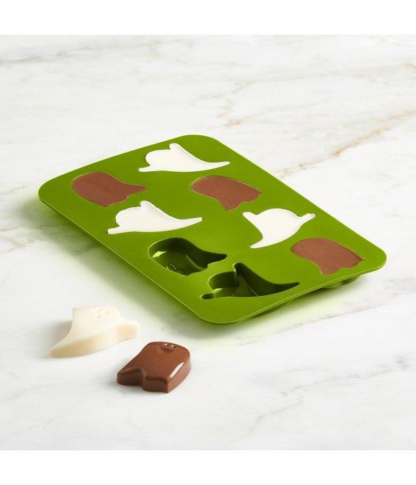 Trudeau Trudeau Set of 2 Chocolate Ghost Molds