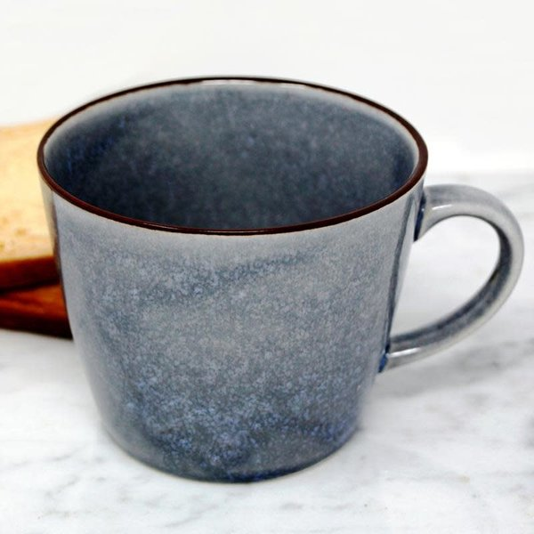 BIA Glazed Blue Mug
