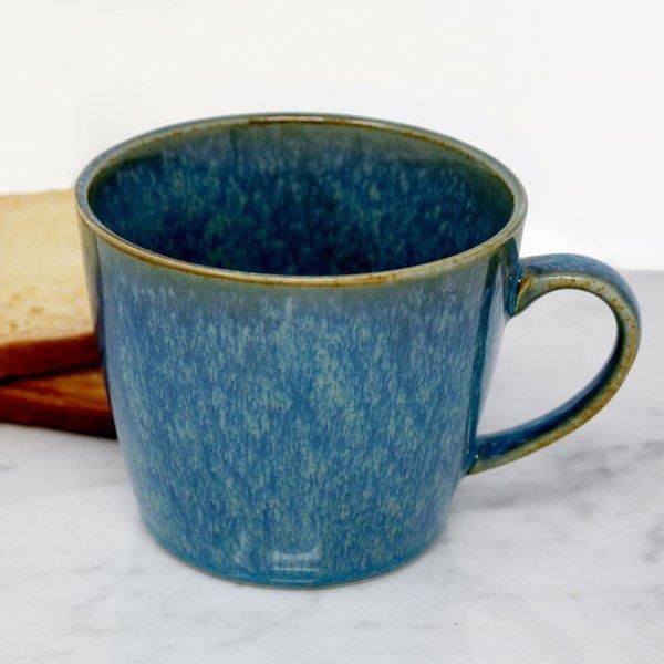 BIA Glazed Teal Mug