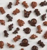Trudeau Ensemble de 2 moules pour chocolats créatures de Trudeau
