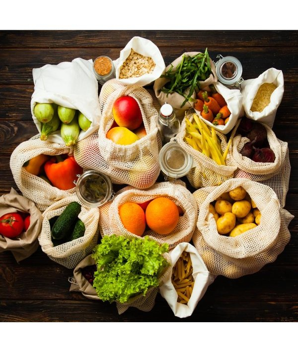 Zen Cuizine Sac à provisions en coton de Danesco