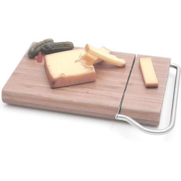 Planche à fromage bamboo avec trancheur intégré de Swissmar