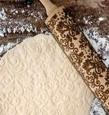 Danesco Rouleau à pâtisserie gravé de Danesco