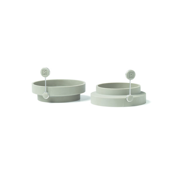 Set of 2 Egg/Pancake Silicone Moulds
