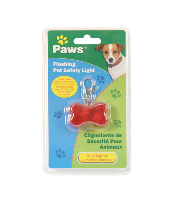 Paws Paws Flashing Pet Safety Light
