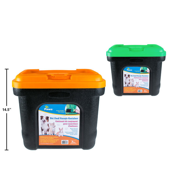 PAWS Pet Food Storage