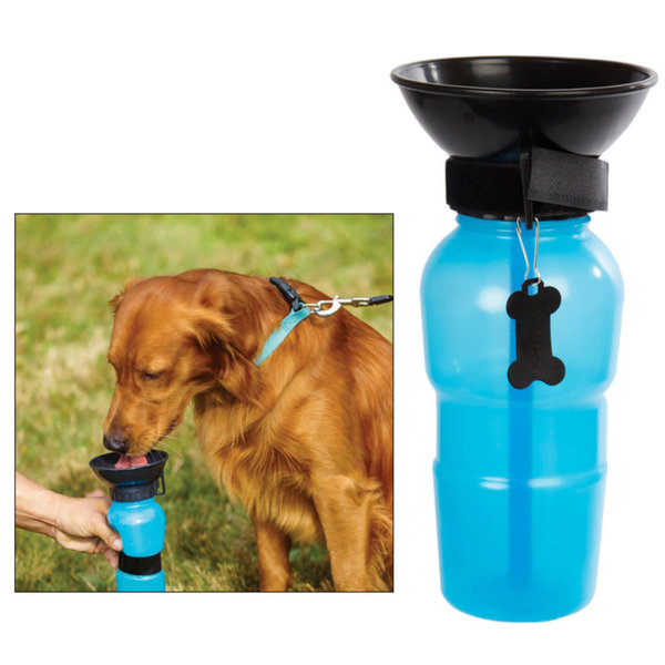 PAWS Pet Squeeze Water Bottle
