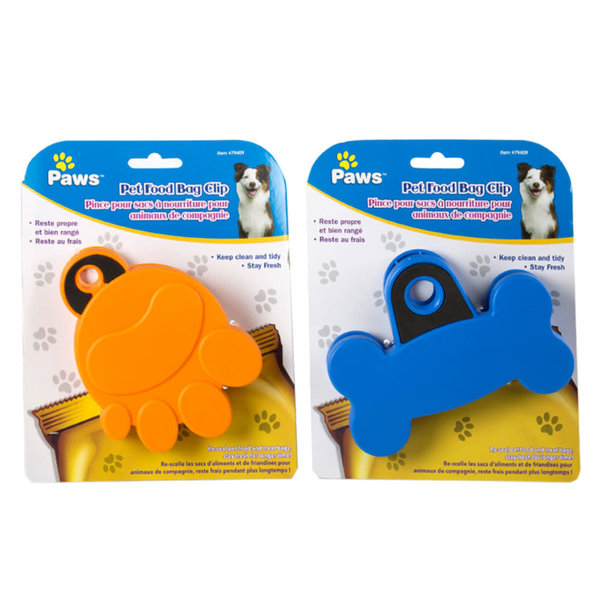 Pet Food Bag Clip by Paws