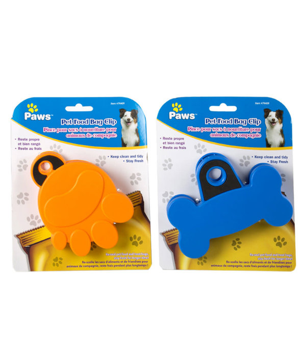 Paws Pet Food Bag Clip by Paws