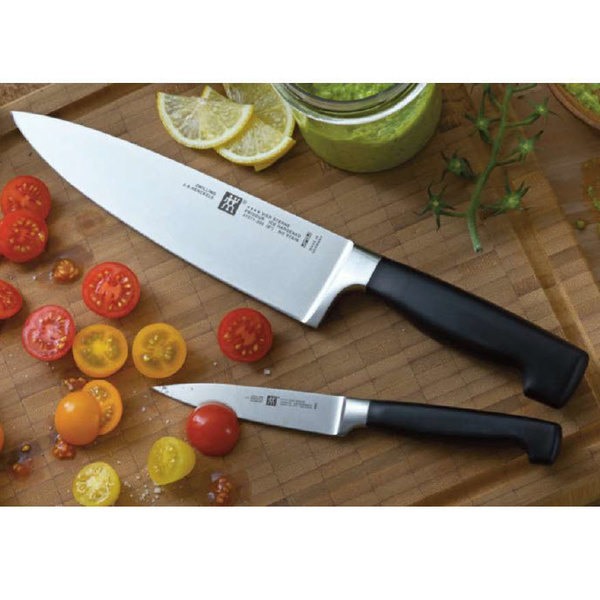 """ZWILLING FOUR STAR 2-PC """"THE MUST HAVES"""" KNIFE SET"""
