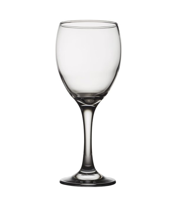 """Pasabahce Set of 10 """"Emperor"""" Wine Glasses 345ml"""