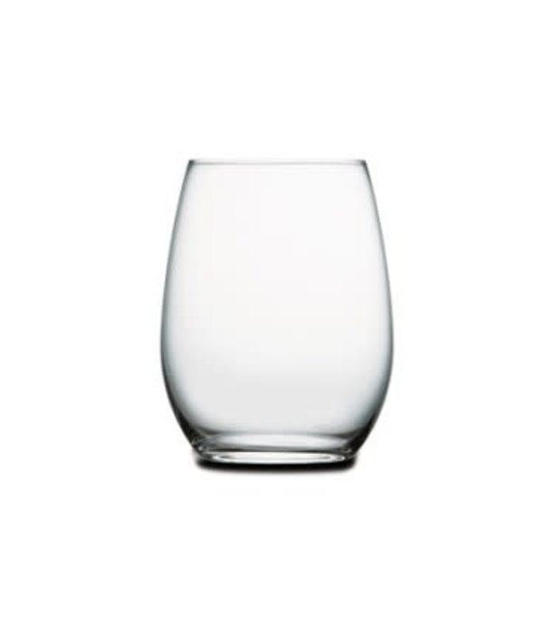 Pasabahce Pasabahce Set of 4 Sommelier Stemless Wine Glasses