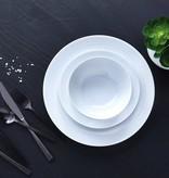 """Ensemble à vaisselle 12mcx """"Contour"""" H2K, blanc"""