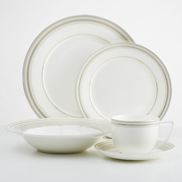 Mann 20pc Milano Dinnerware Set