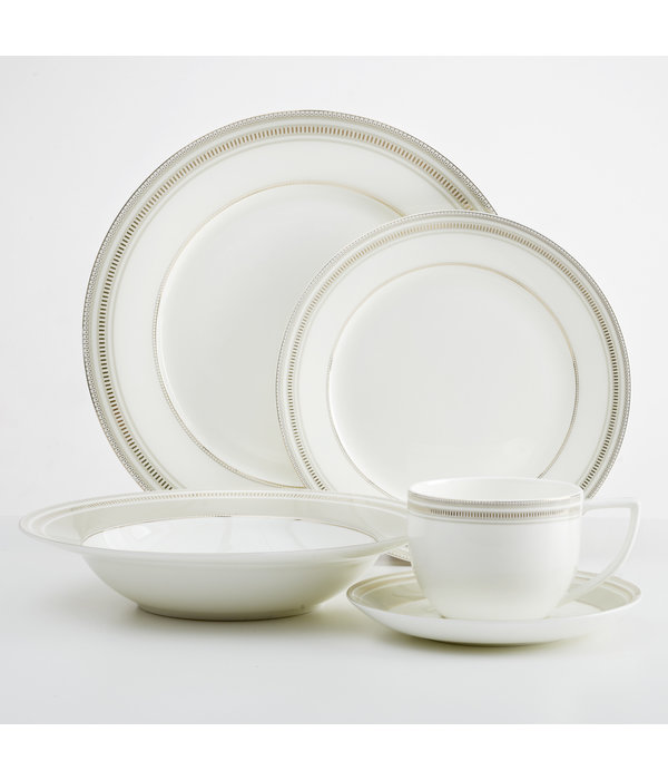Mann 20pc Milano Dinnerware Set