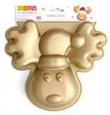 ScrapCooking Silicone Reindeer Mold for Cake