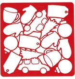 Wilton Plaque multi-découpoirs à biscuits de Wilton
