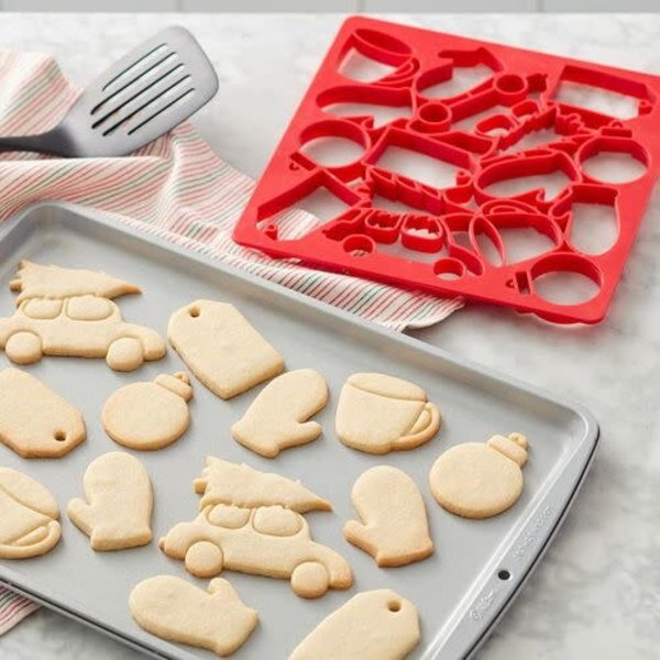 WILTON MULTI-COOKIE CUTTER SHEET