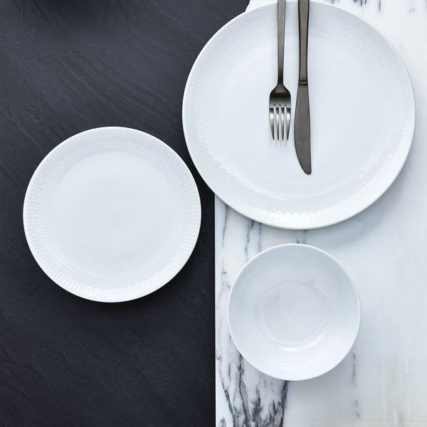 "H2K 12pc ""Radiance"" Dinnerware Set, white"