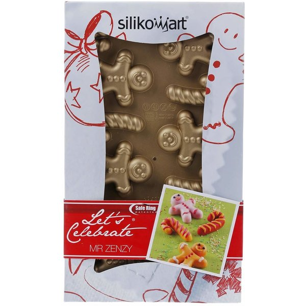 "Moule 15 minis gâteaux ""Mr. Zenzy"" de Silikomart"