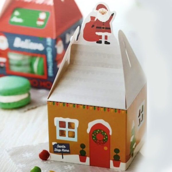 WILTON TREAT BOX MINI HOUSE PK/4