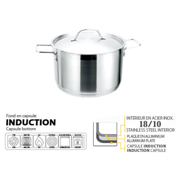 Josef Strauss Pro 3.8L Casserole with cover