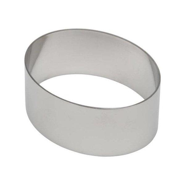 Oval à pâtisserie de Inox Plus