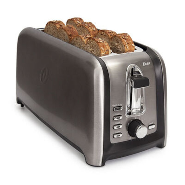 Oster® 4-Slice Toaster, Black Stainless