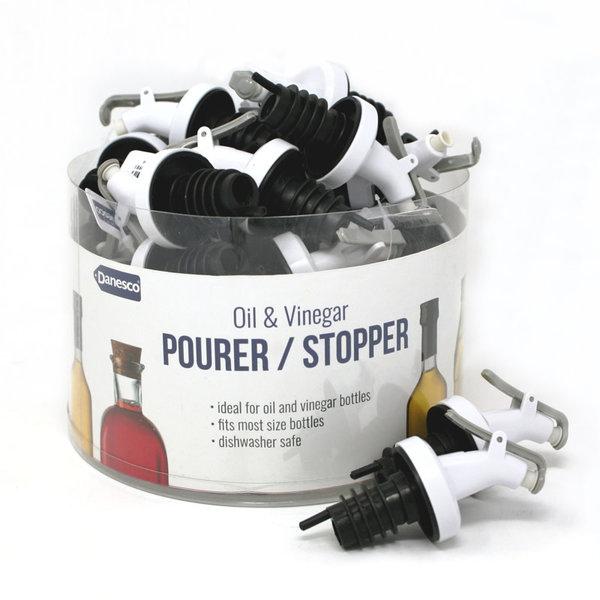 Danesco Oil & Vinegar Pourer / Stopper