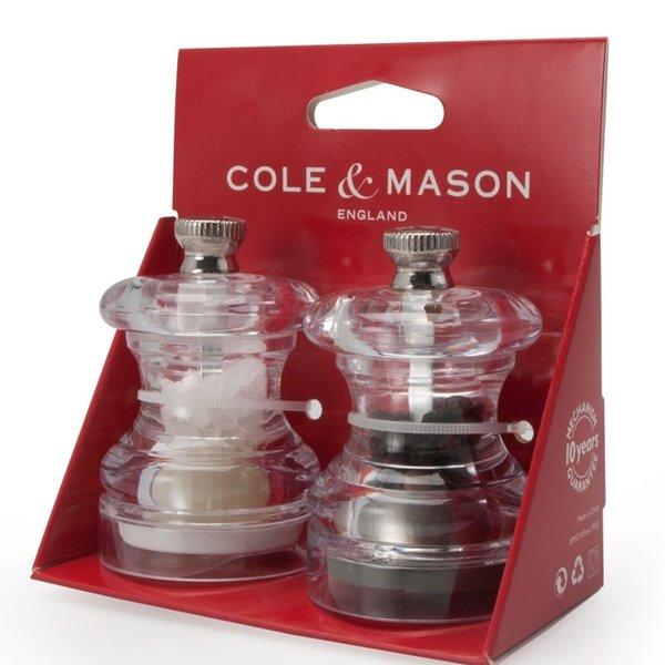 Cole and Mason BUTTON Mini Salt & Pepper Gift Set
